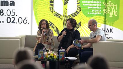Норвежката писателка Гюдрюн Скретинг в Международния литературен фестивал за деца и младежи в НДК