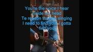 Joe Jonas - Gotta Find You [tekst]