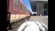 Бв 7622 София - Видин потегля от гара Враца