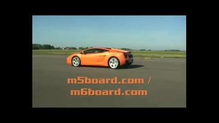 Bmw M6 vs Lamborghini Gallardo - Отново Bmw показва мощ