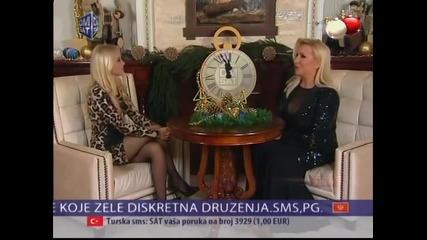 Vesna Zmijanac - Estradne vesti - (DM SAT 01.01.2015)