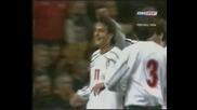 Първият гол на Димитър Бербатов за България