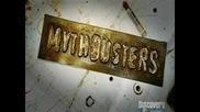 Mythbusters - Изстрел През Оптика Част 2
