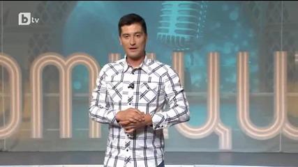 Петьо Петков - Шайбата представя дует Ритон в Комиците ( Б Т В, 20.06.2015г.)