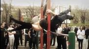 Уличният фитнес в България.