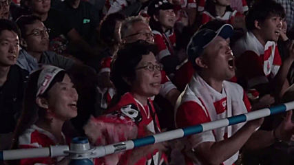 Japan: Yokohama erupts as hosts launch World Cup with win over Russia