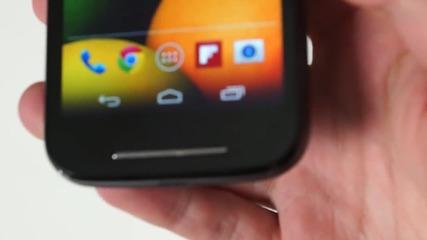 Качество и цена в приятна комбинация - Motorola Moto E - видеоревю на smartphone.bg