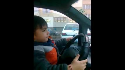 4 - годишният Адел - бъдещият Шумахер