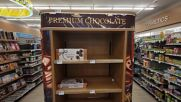USA: Empty Shelves in NYC as supply chains backlog mounts