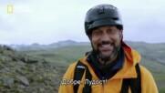 Откъс с Кийгън-Майкъл Кий   В дивата пустош с Беър Грилс   сезон 6   National Geographic Bulgaria.