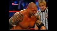 Tlc batista vs undertaker Wwe (столове) part 1