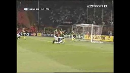 Milan - Fenerbace 3 - 1 Kaka