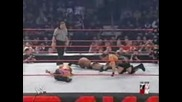 Raw 2002 - Chris Jericho Vs. Rob Van Dam Vs. Booker T