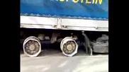 Камион с джанти за лед