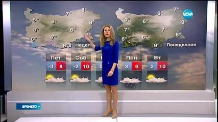 Прогноза за времето (19.02.2015 - централна)