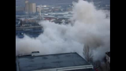 Взривът На Тютюневия Комбинат В Плевен