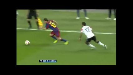 Lionel Messi vs Nani