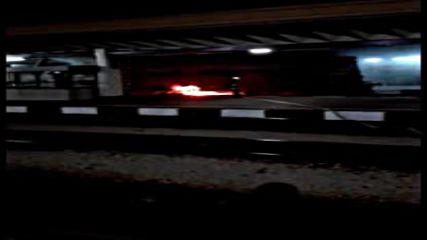Локомотив се запали на гара Горна Оряховица