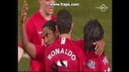 Man United 4 - 1 Derby (ronaldo) 20.01.09