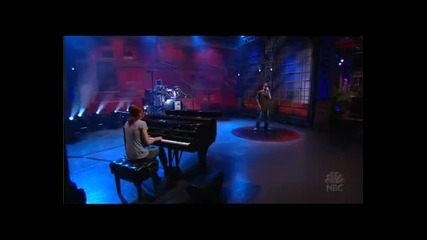 Fort Minor feat Holly Brook - Whered you go Live Jay Leno