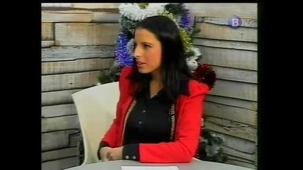 Савов и Стелияна Христова в ефира на ТВ ВИДЕОСАТ