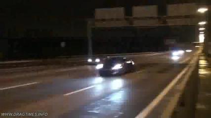 Улична гонка:nissan Gt - R Switzer P800 vs Hayabusa