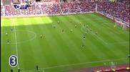Стивън Флетчър от Съндърланд за 3:0 срещу Нюкасъл