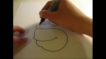 How to draw Homer Simpson in 20 seconds