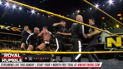 Undisputed ERA and Imperium throw down ahead of Worlds Collide: WWE NXT, Jan. 22, 2020