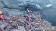 Професионална евакуация с хеликоптер