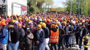 Germany: Sikh demonstrators rally against terrorism in Essen