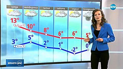 Прогноза за времето (14.11.2018 - централна емисия)