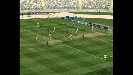 Fifa 11 - Прекрасен гол на Fake Rabona+rabona