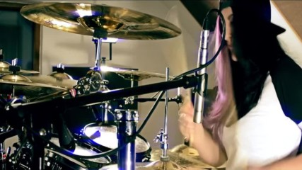 Avenged Sevenfold - Nightmare - Drum cover by Jenny Joey 17 - Czech rep