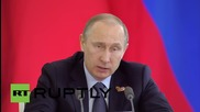 Russia: China is Russia's key strategic and economic partner - Putin