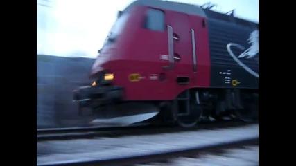 Влак на Булмаркет през Провадия