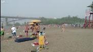 Градушка на плажа в Русия
