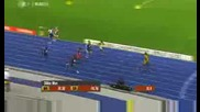 Изумително ! Usain Bolt - Пребягва 200 метра само за 19, 19 секунди и поставя Рекорд !!