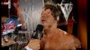 wwe Raw. ; Ако Джерико не спечели на Night of Champions напуска wwe :x