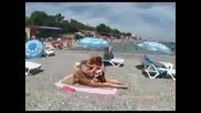 Шега на Плажа - Скрита Камера