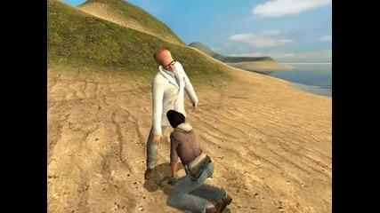 Garrys Mod - Sex On The Beach [смях]