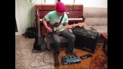 Стефото свири на Fender Telecaster