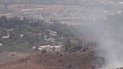 Lebanon: Israeli artillery shells border area after three missiles fired from Lebanon