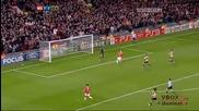 22.11.11 Манчестър Юнайтед 2 - 2 Бенфика - Най - доброто от мача