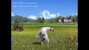 Анимация - Лудата мечка - Парашутист 2-та дни