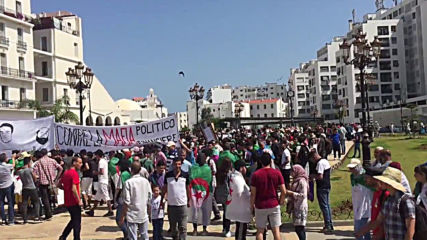 Algeria: Students protest in 17th week of anti-government rallies in Algiers