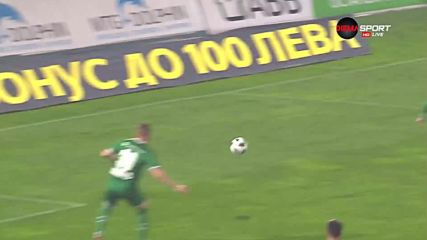 Костов можеше да изравни за Левски срещу Лудогорец