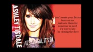 Ashley Tisdale - Its alright its ok with lyrics