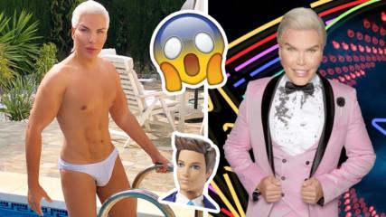 Живият Кен с нови намерения, ще става Барби?!