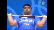263,  5 kg Над главата на човек (дигане на щанга)stronger man